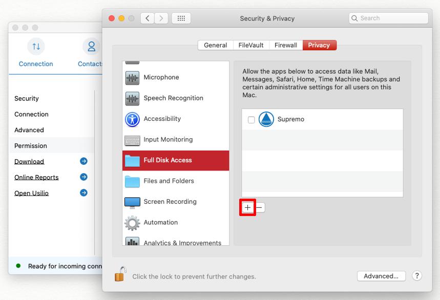 Come avviare Supremo per Mac su macOS 10.14 e superiori